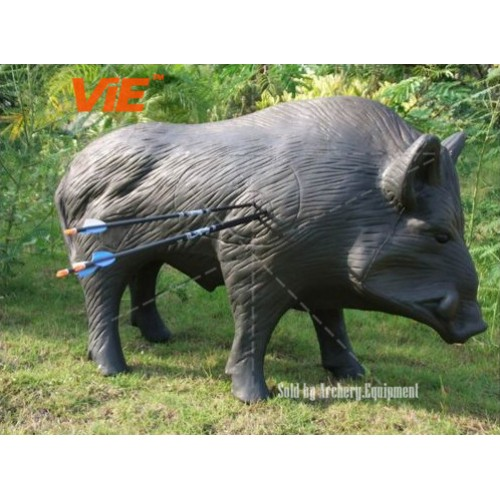 3D Archery Target Pig Hog Wild Boar Bow Crossbow Hunting Real Practice Animal 2 Color 0-500x500.jpg
