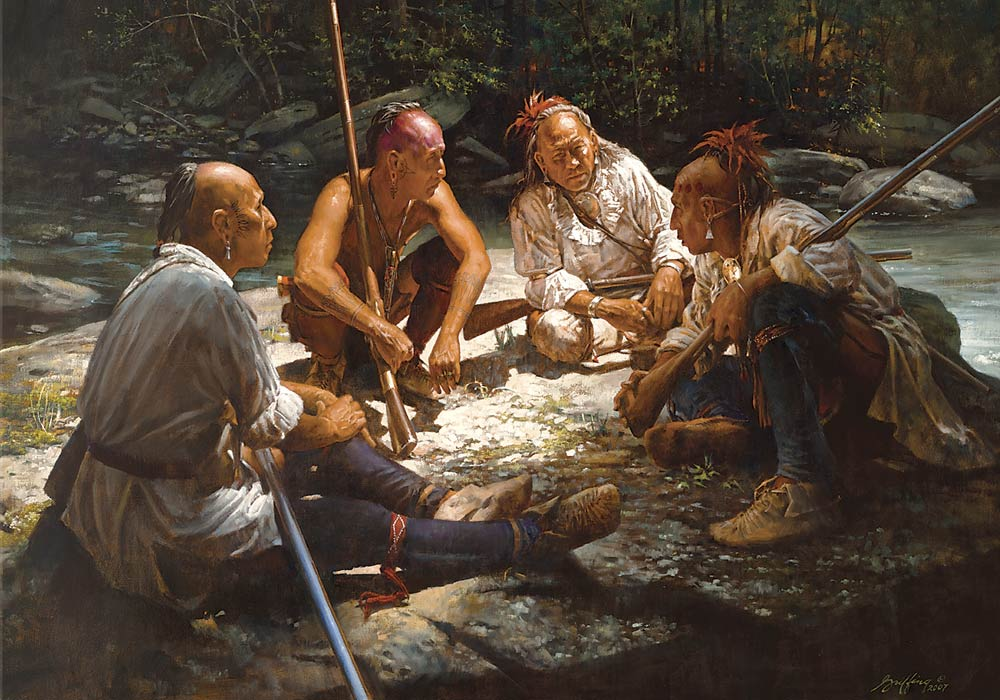 Council at Slippery Rock Creek by Robert Griffing .jpg